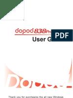 838Pro User Manual En