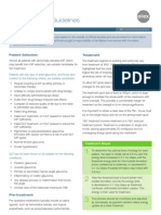 SLT Treatment Guidelines by Ellex