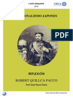Nacionalismo Japones | Robert Quillca Pacco