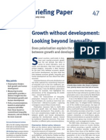 47 Growth Development Inequality ion Poverty