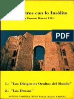 Encuentros con lo Insólito, por Raymond Bernard, F.R.C.