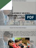 Armando Nerio Hanoi Guedez Rodríguez - Ajedrez mejora rendimiento cognitivo de los niños