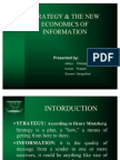 Strategy & the New Economics of Information