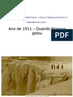 Cataratas del Niagara Congeladas-Año 1911