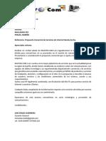 propuesta                                                                                                                                                                                                                                                   mastercom                                                                                                                                                                                                                                                   mallamas