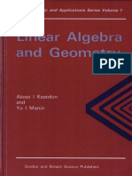 alexei                                                                                 i.                                                                                 kostrikin                                        ,                                                                                 yu                                                                                 i                                                                                 manin                                                                                 linear                                                                                 algebra                                                                                 and                                                                                 geometry                                                                                 algebra                                        ,