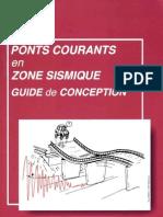 Ponts Courants en Zone Sismique - Guide de Conception