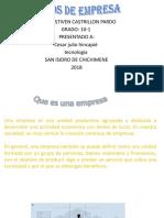 Caracteristicas de Las Empresas
