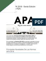 Apa 2018 6ta Edicion