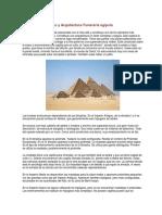 Pirámides de Egipto y Arquitectura