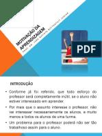 05 - Psicologia Educacional - Motivação Da Aprendizagem