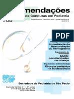 Sociedade Pediatria SP Condutas Interpretacao Hemograma