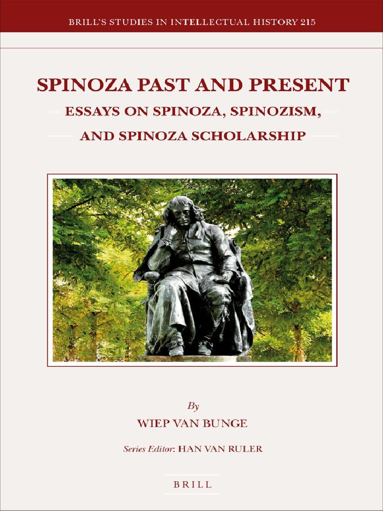 Wiep Van Bunge] Spinoza Past and Present  Essays (B-ok xyz