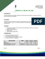 Valvulina API Gl-1 Sae 90-140-250