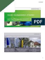 Aerobic Biodegradation of Textiles