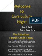 2018-19 curriculum night