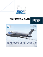 Skysim DC9 Flight Technique