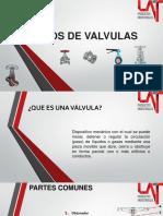 TIPOS DE VALVULAS