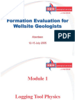 Formation Evaluation Physics