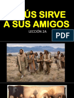 Jesús Sirve a Sus Amigos-8vo