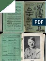 Reibert - Ausgabe Für Den Gewehr Und LMG Schutzen 1936