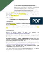 NÚCLEO DE CRIMINOLOGIA E DE POLÍTICA CRIMINAL - Leituras e programação 2017 - 2018.pdf