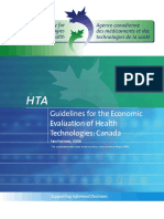 AboutHTA Guidelines for the Economic Evaluation of Health Technologies