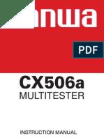 Manual CX506a