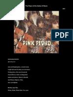 Pink Floyd - Roger Waters Lyrics