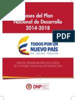 Bases Plan Nacional de Desarrollo 2014-2018.pdf