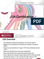 CIA LS Webinar About Taking the CIA Exam