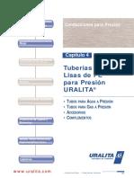 UST_Tarifas2004 Tuberia Lisa PE Obra Civil