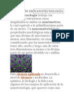 nanotecnología Word