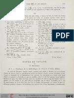 Bouriant, Notes de Voyage, Recueil de Travaux 11, 1889