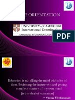 IGCSE Orientations Ppt