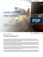FINAL Initial Summary_Streetcar Cost Review 20180831