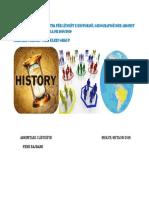 Plani Global Dhe Tematik Për Lëndët e Historisë