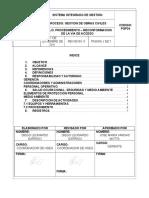 Pgp34 Procedimiento Reconformacion de La via de Acceso
