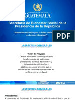 II Plan piloto para la prevención del delito Guatemala