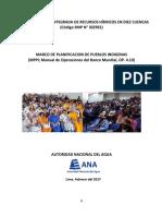 Marco de Planificacion Para Pueblos Indigenas Final