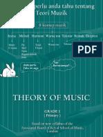 Teori Pendidikan Muzik Sekolah Rendah