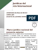 Marco Juridico Nacional Comercio Internacional México