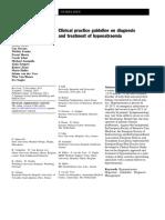 Guidelines Hyponatremia 2014