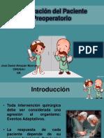 Prepación del Paciente para Acto Quirúrgico