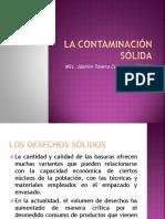 Tema 1 Contaminación Sólida