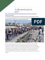 1 Perú Paga Un Alto Precio Por Su Modelo MINERO