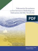 Valoración Económica de los Servicios Hidrológicos Subcuenca del Río Teculután.pdf