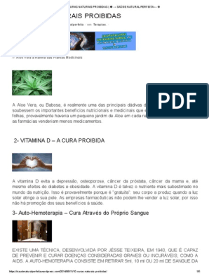 auto hemoterapia cura diabetes pdf