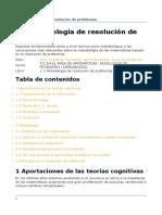Metodología de Resolución de Problemas COGNOS