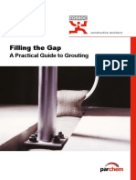 Grouting Manual